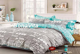 BonaVita евро комплект постельного белья  бязь голд люкс