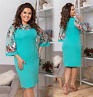 Женское модное платье ДВ932(бат), фото 1