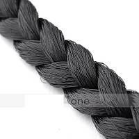 Эластичная повязка-косичка на голову