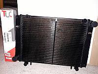 Радиатор охлаждения Газель 3-х рядный нового образца. медный Иран