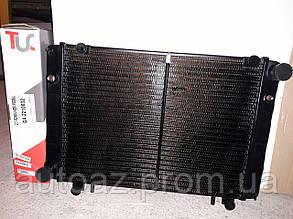 Радиатор Газель 3-х рядный со штырями . медный Иран