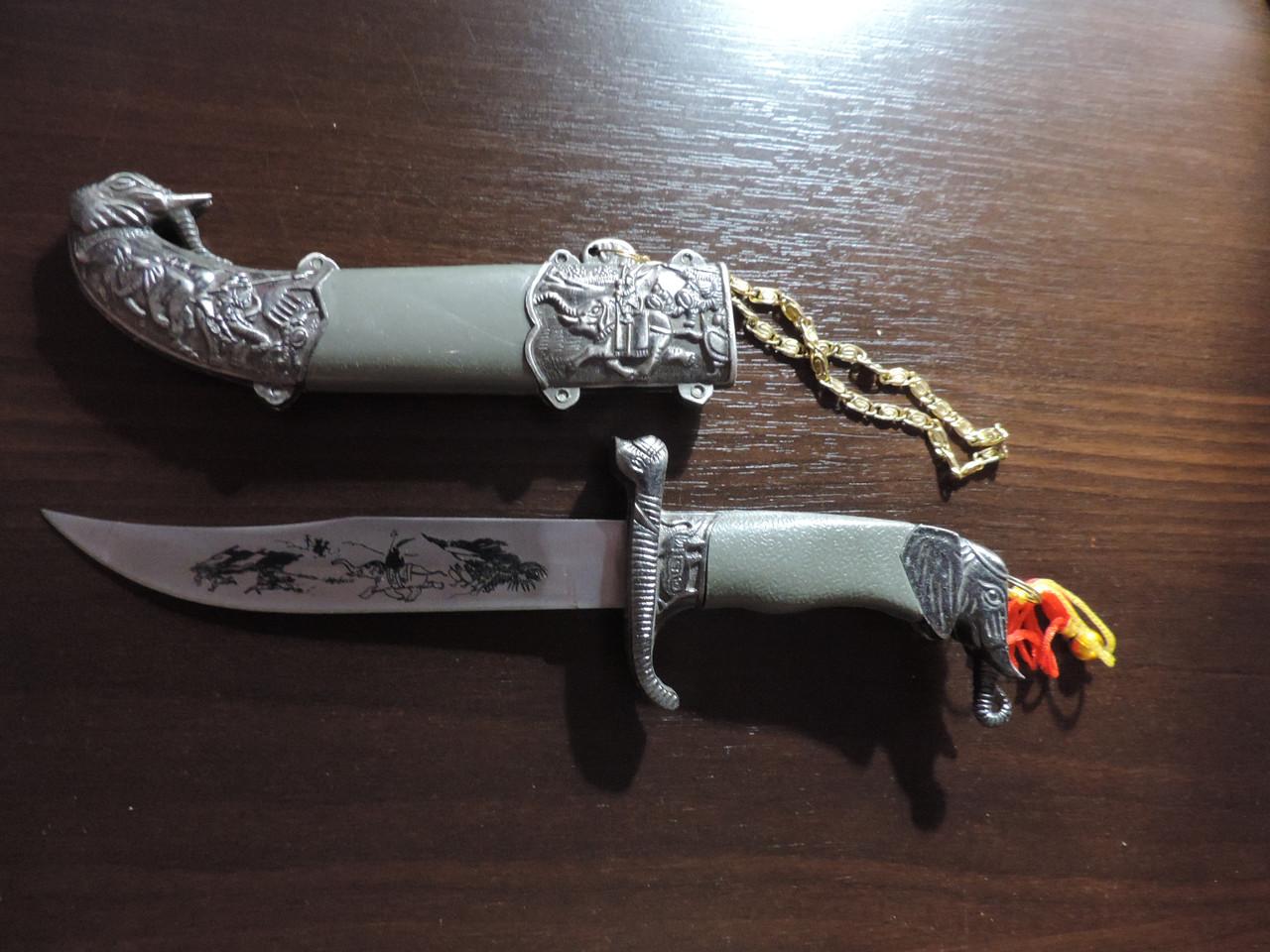 "Сувенирный нож ""Слон""."