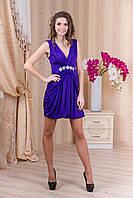 Короткое вечернее платье с болеро