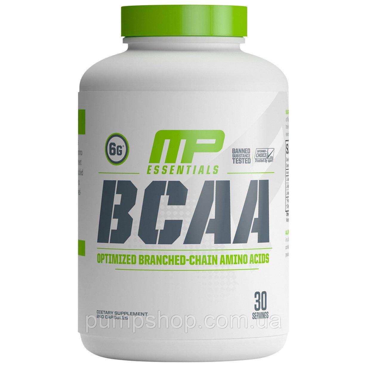БЦАА MusclePharm BCAA 3:1:2 240 капс.