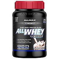 ALLMAX Nutrition, AllWhey Classic, 100% протеин, печенье со сливками, 2 фунта (907 г)