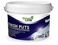 Финишная акриловая шпаклевка TM Green Line FINISH PUTS 10 л