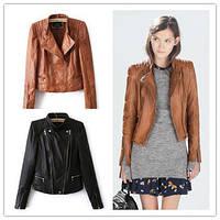 Молодежная женская куртка осень-весна с двумя молниями