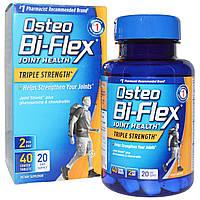 Osteo Bi-Flex, Здоровье суставов, тройная сила, 40 таблеток в оболочке