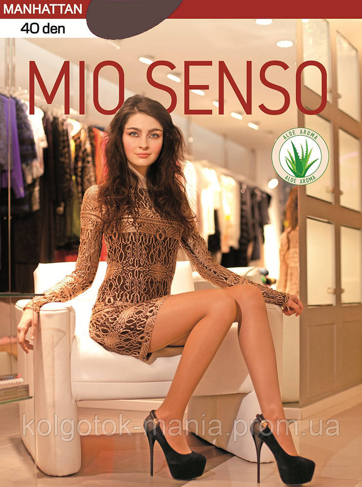"Колготки Mio Senso ""MANHATTAN 40 den"" cappuccino, size 3"