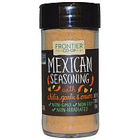 Frontier Natural Products, Мексиканская приправа, с чили, чесноком и луком, 2,00 унции (56 г)