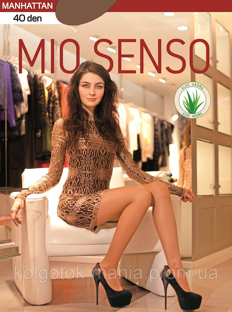 "Колготки Mio Senso ""MANHATTAN 40 den"" bronze, size 4"