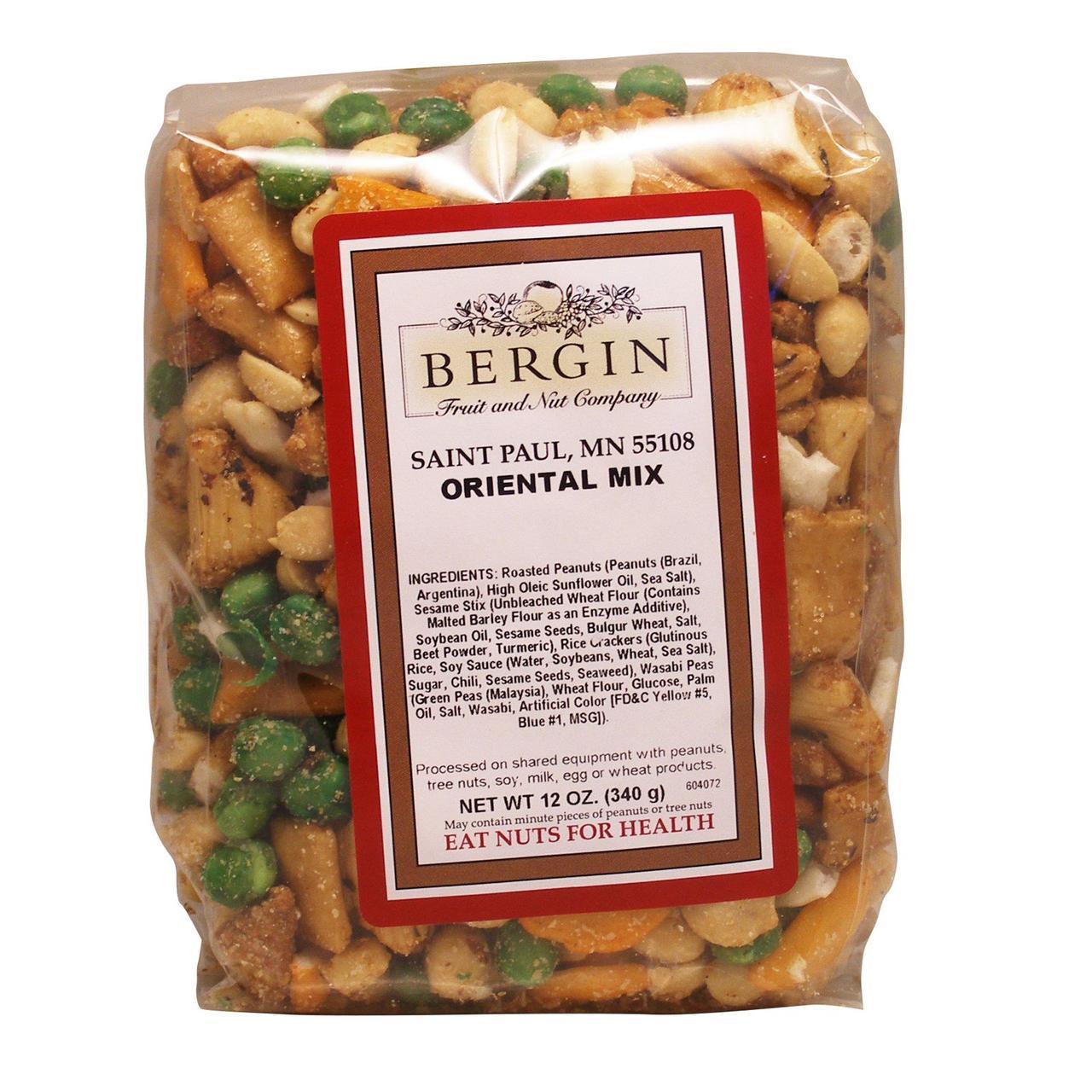Bergin Fruit and Nut Company, Ориентальная смесь, 12 унций (340 г)