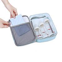 Большой-рюкзак для прогулок и путешествий с младенцем  голубая   Mommore, фото 4