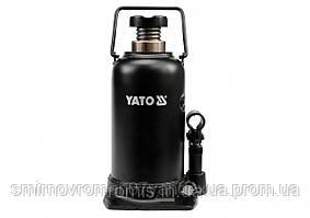 Домкрат гидравлический бутылочный YATO 20 т h=241-521 мм