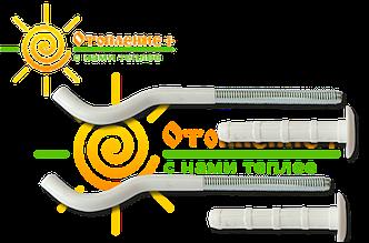 Кронштейн для крепления секционного радиатора пара 8х170