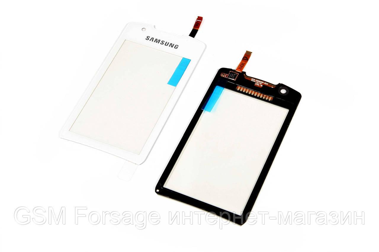 Тачскрин Samsung S5620 Monte White