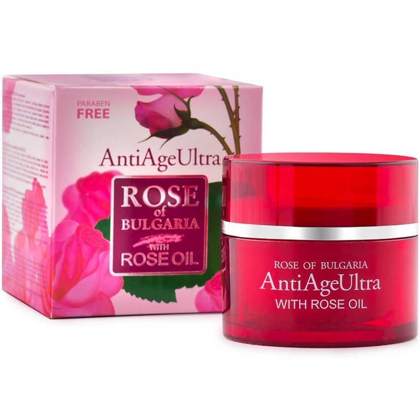 Антивіковий крем для обличчя Ultra без парабенів BioFresh Rose of Bulgaria 50 мл