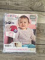 Набор 2 шт Реглан лонгслив кофта 62/68 lupilu , фото 1