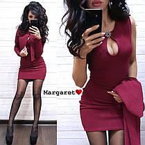 Платье+пиджак накидка, размер 42-44, фото 3