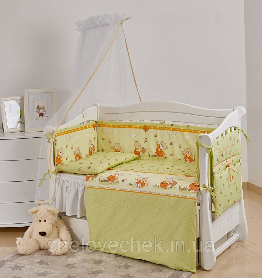 Детское постельное белье Twins Comfort New Медуны 7 эл С-109
