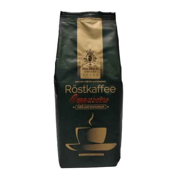 Кофе Mr. Rich Rostkaffee Cappuccino 100% арабика в зернах 500 гр