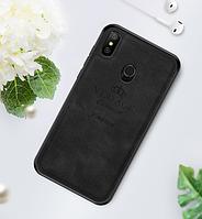 Чехол PINWUYO Vintage для Xiaomi Redmi Note 6 Pro Black (Черный)