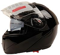 Мотошлем FXW HF-118 Черный глянец, фото 1