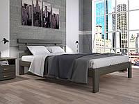 """Кровать деревянная """"Домино 1"""" Тис"""
