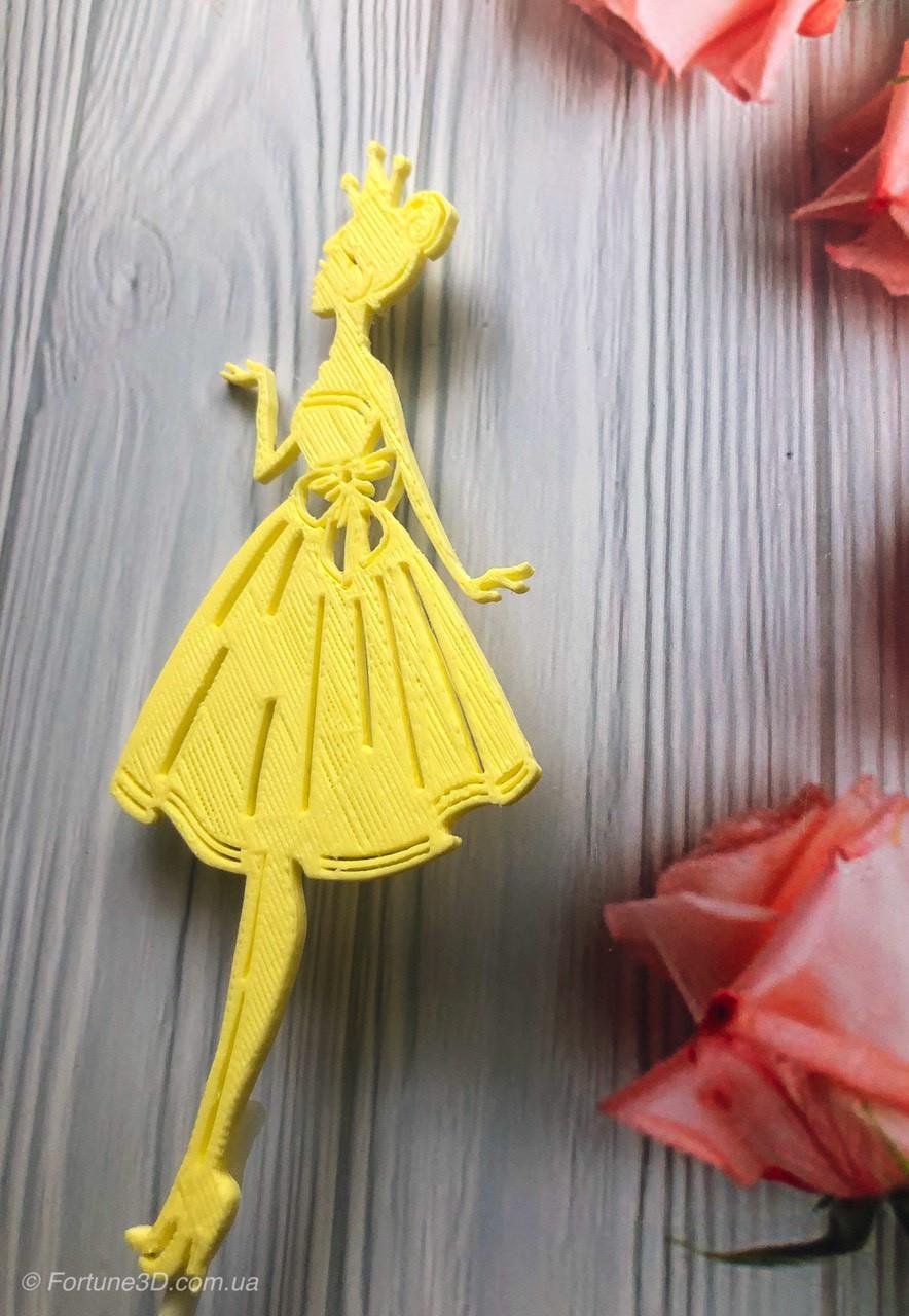 Топпер принцесса с короной, топеры принцесски в торт ...