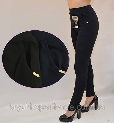 Лосины женские с боковыми  карманами - микродайвинг, фото 2