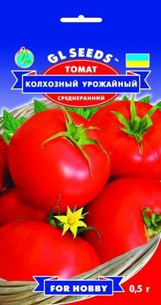 Томат Колхозный урожайный, пакет 0,5г - Семена томатов, фото 2