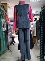 Женский велюровый спортивный костюм р.40 - 44