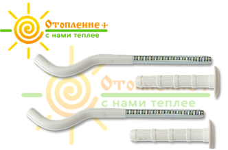 Кронштейн для крепления секционного радиатора пара 8х220
