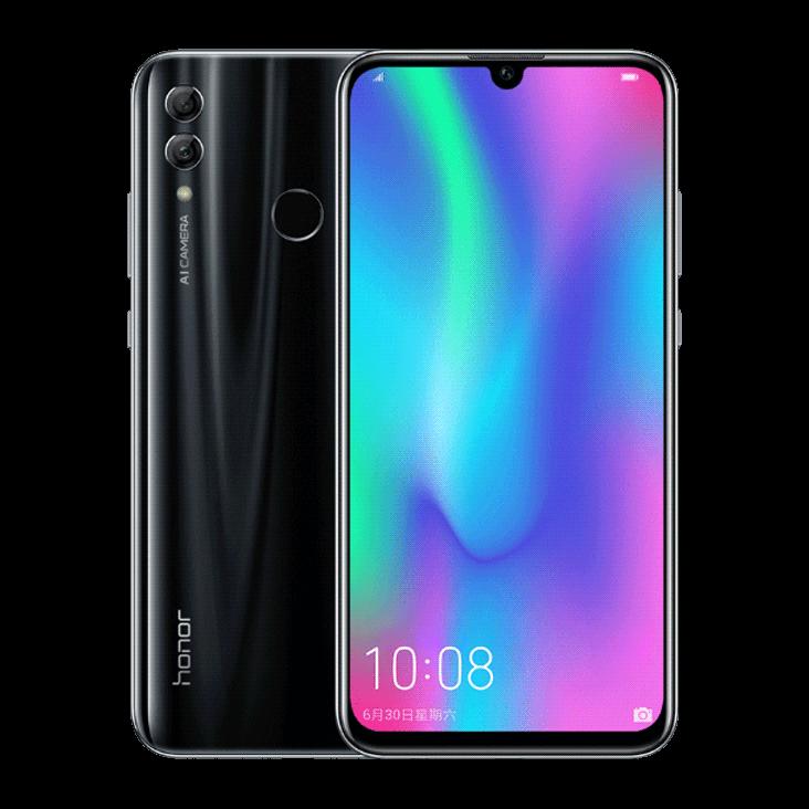 Смартфон Huawei Honor 10 Lite 4/64Gb Black Huawei HiSilicon KIRIN 710 3400 мАч