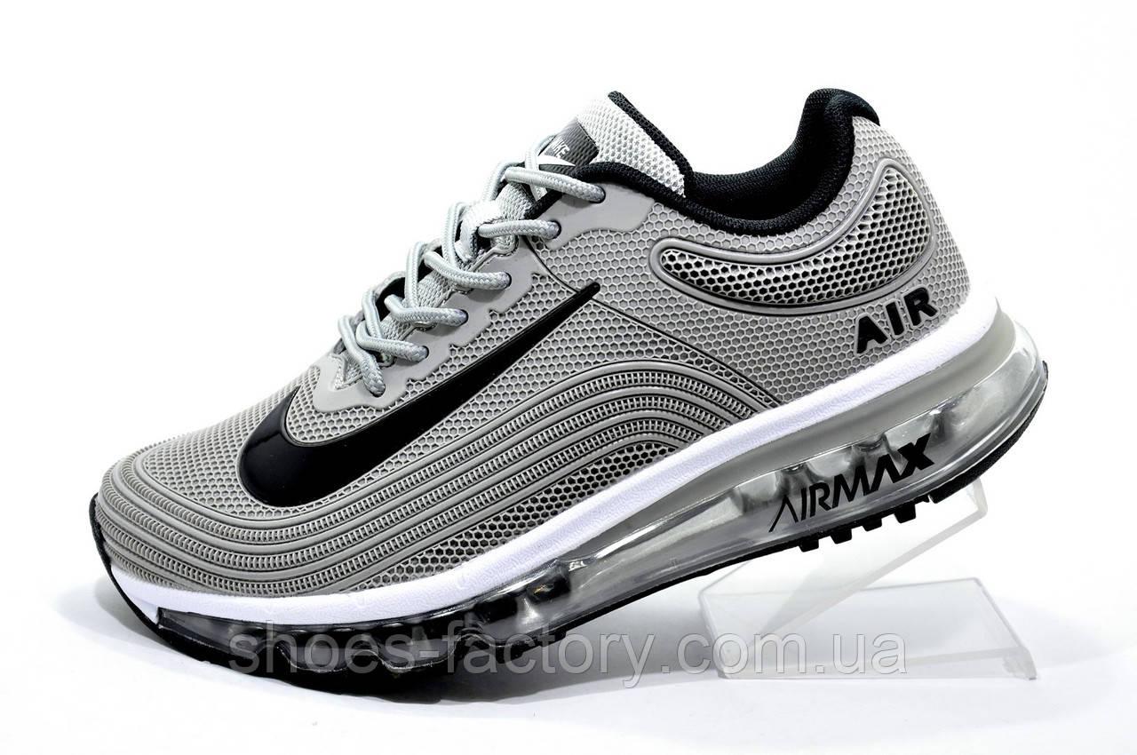 Кроссовки унисекс в стиле Nike Air Max 2019 KPU Gray\Серые