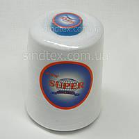 Нитки Super армированные белые 20/2 4000ярдов