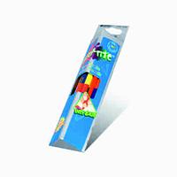 Акварельные двухcторонние карандаши marco 9121-12СВ grip-rite 12 штуки на 24 цвета с кистью