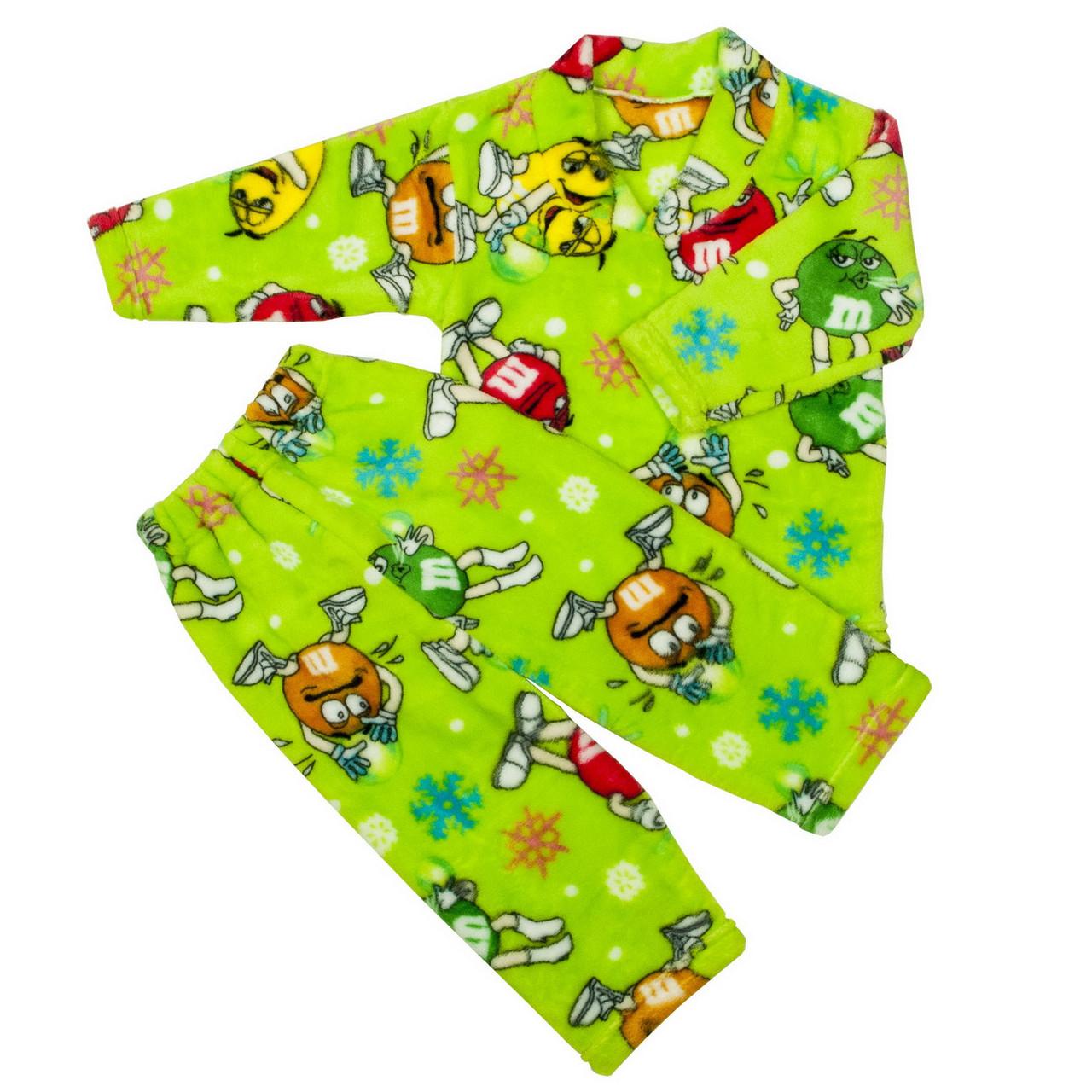 Пижама махра для мальчиков m&d салатовая
