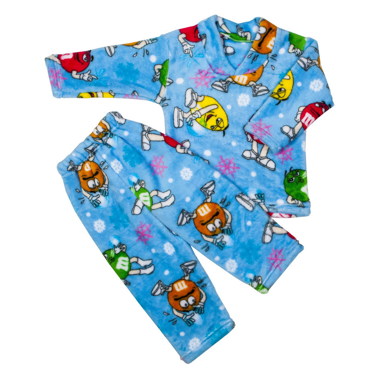 Пижама махра для мальчиков m&d голубая