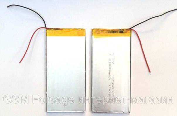 Аккумулятор универсальный 3560125 12.5 cm х 5.5 cm 3.7v 4000 mAh
