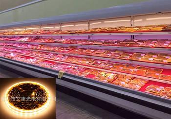 Освітлення для м'ясних і продуктових прилавків