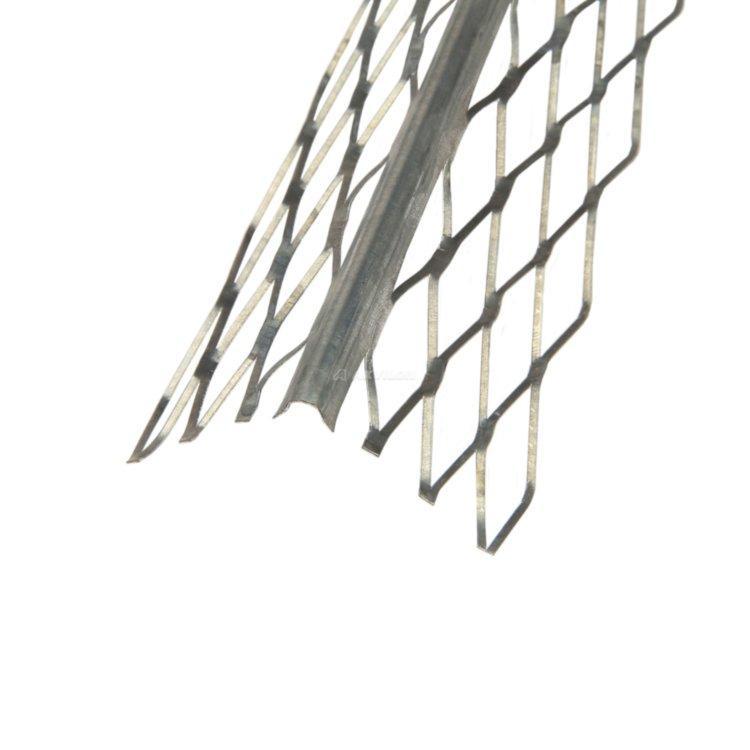 Угол для мокрой штукатурки с металлической сеткой 3м