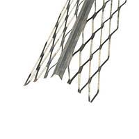 Угол для мокрой штукатурки с металлической сеткой 2.5м