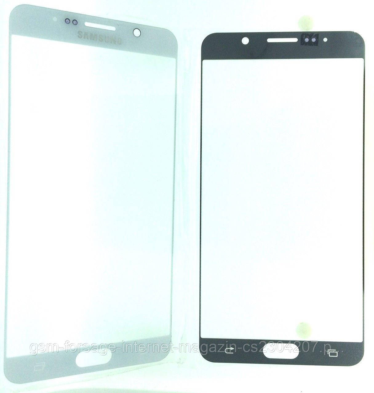 Стекло дисплея Samsung Note 5 White (для переклейки)