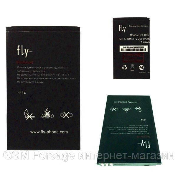 Аккумулятор Fly BL4007 (2000 mAh) DS123