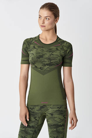 Термофутболка женская SPAIO Inforce Camouflage, фото 2