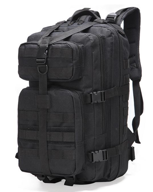 Тактичний, міської, штурмової,військовий рюкзак ForTactic на 30-35литров Чорний