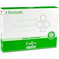 CoQ10 (Сантегра - Santegra) Коэнзим Кью 10 - растительная транс-форма, 50 мг, 30 капс, фото 1
