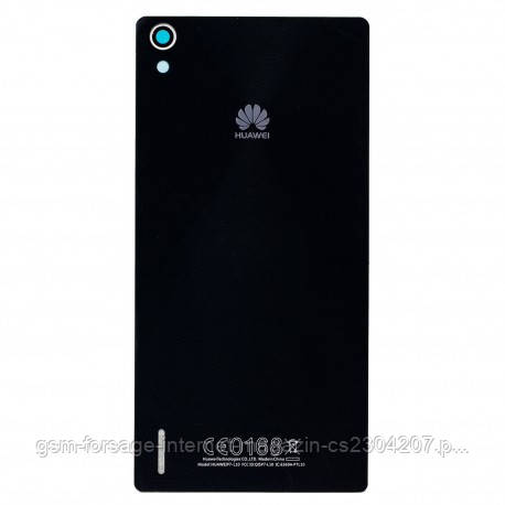Задняя часть корпуса Huawei P7 Black