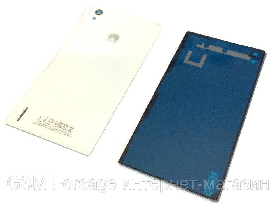 Задняя часть корпуса Huawei P7 White
